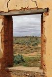 Ruina del pueblo fantasma Imagen de archivo libre de regalías