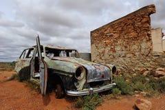 Ruina del pueblo fantasma Fotos de archivo libres de regalías