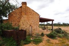 Ruina del pueblo fantasma Fotos de archivo