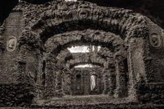 Ruina del teatro de la roca Fotos de archivo libres de regalías