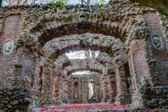 Ruina del teatro de la roca Imagen de archivo libre de regalías