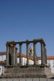 Ruina del templo antic romano Foto de archivo libre de regalías