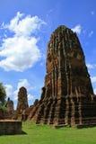 Ruina del templo budista Imagen de archivo libre de regalías
