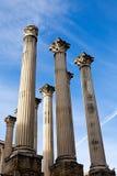 Ruina del templo romano en Córdoba, España Imágenes de archivo libres de regalías