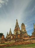 Ruina del templo tailandés viejo Fotos de archivo