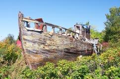 Ruina del tortazo del pescador Imágenes de archivo libres de regalías