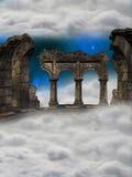 Ruina en el cielo Fotos de archivo