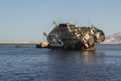 Ruina en el Mar Rojo Imagenes de archivo
