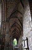 Ruina gótica - abadía de Holyrood Fotos de archivo libres de regalías