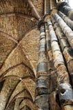 Ruina gótica - abadía de Holyrood Fotos de archivo