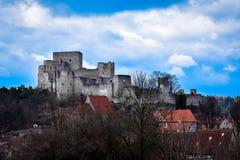 Ruina hermosa en República Checa foto de archivo libre de regalías
