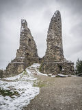 Ruina Hohenfreyberg Zdjęcie Stock