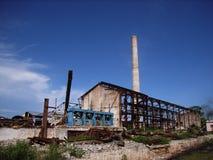 Ruina industrial Foto de archivo libre de regalías