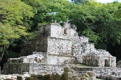 Ruina maya antigua en Quintana Roo, México Fotos de archivo