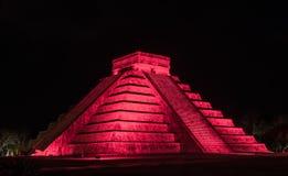 Ruina maya del itza de Chichen Fotografía de archivo libre de regalías