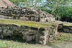 Ruina maya en Cozumel, México imagen de archivo