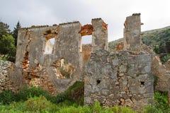 Ruina monastry Zdjęcie Royalty Free