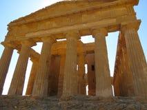Ruina romana Imágenes de archivo libres de regalías