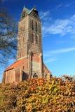 Ruina St. Maryjny kościół w Wismar Fotografia Royalty Free
