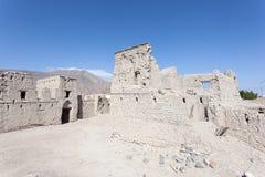 Ruina stara Omani wioska Fotografia Stock