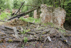 Ruina stary dom Obrazy Stock