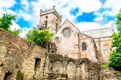 Ruina stary kasztel w Szkocja obraz stock