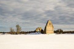 Ruina Sunlit Imagen de archivo libre de regalías