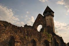 Ruina vieja de una iglesia fortificada #1 Imágenes de archivo libres de regalías