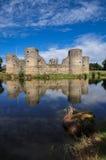 Ruina vieja del castillo en un día de verano Fotografía de archivo libre de regalías
