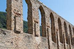 Ruina vieja del monasterio en Alemania Imagen de archivo
