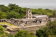ruinach palenque Zdjęcia Stock