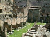 ruinach rzymu Zdjęcie Stock