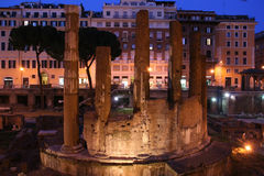 ruinach rzymu fotografia royalty free