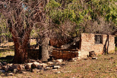 Ruinas abandonadas de la casa Fotografía de archivo