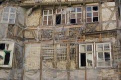 Ruinas Af un edificio viejo Fotos de archivo libres de regalías