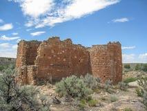 Ruinas ancestrales de Puebloan en el monumento nacional de Hovenweep imágenes de archivo libres de regalías