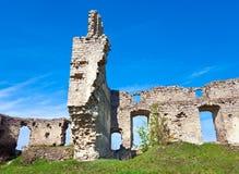 Ruinas antiguas de la fortaleza Foto de archivo