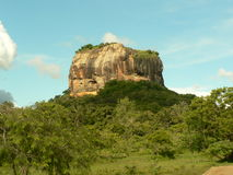 Ruinas antiguas de Sigiriya Foto de archivo