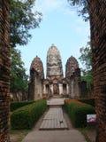 Ruinas antiguas de Sukhothai fotos de archivo