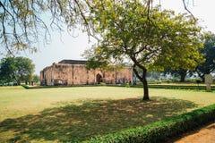 Ruinas antiguas del baño del ` s de la reina en Hampi, la India fotos de archivo libres de regalías