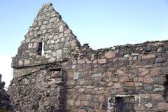 Ruinas antiguas del convento Fotografía de archivo