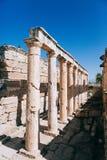 Ruinas antiguas en Ephesus Turquía Imágenes de archivo libres de regalías