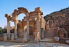 Ruinas antiguas en Ephesus Turquía Fotografía de archivo libre de regalías