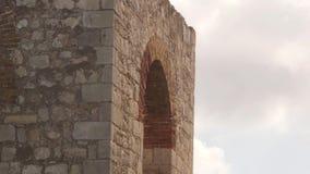 Ruinas arquitectónicas antiguas viejas Montego Bay, Jamaica metrajes
