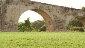 Ruinas arquitectónicas antiguas viejas Montego Bay, Jamaica almacen de video