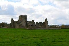 Ruinas atractivas de la abadía de Hore Imagen de archivo