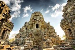 Ruinas camboyanas del templo Fotografía de archivo libre de regalías
