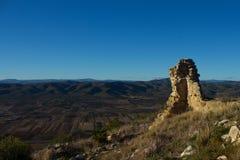 Ruinas Castillo DE Alcalà ¡ Stock Afbeeldingen