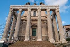 Ruinas clásicas Fotografía de archivo libre de regalías