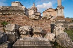 Ruinas clásicas Foto de archivo